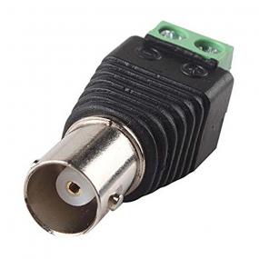 Adapter BNC F - klema 2-pol