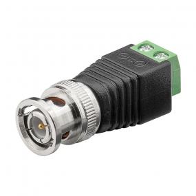 Adapter BNC M - klema 2-pol