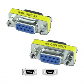 Adapter D-Sub 09 F - D-Sub 09 F