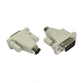 Adapter D-Sub 09 M - PS2 M