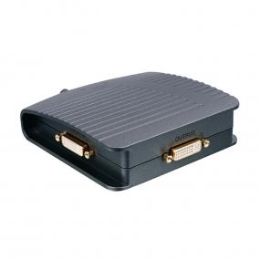 Adapter DVI-I F 2xIN - DVI-I F OUT, preklopnik