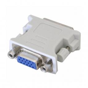 Adapter DVI-I M - VGA F