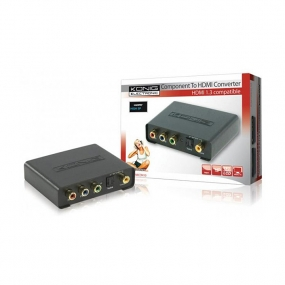 Adapter HDMI AF OUT - 4xRCA F + Toslink F IN