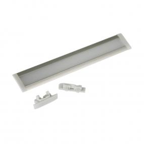 Alu profil za LED traku ugradni široki, 1m