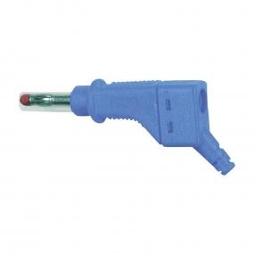 Banana 4mm MultiContact XZGL-425, plava