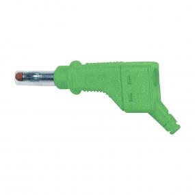 Banana 4mm MultiContact XZGL-425, zelena
