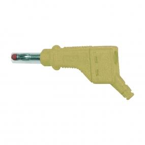 Banana 4mm MultiContact XZGL-425, žuta