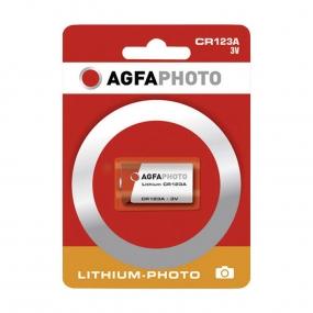 Baterija AgfaPhoto CR123, Li 3V