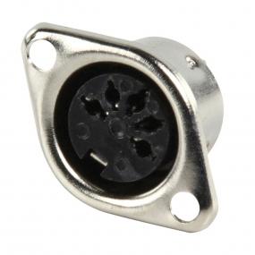 DIN 5-polni metalni ugradni F