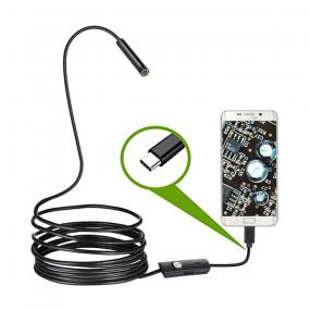 Endoskop za android, USB CM 6xLED IP67, 7mm sočivo, 1m