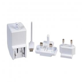 Ispravljač za RaspberryPi, 3000mA 5.1VDC, USB CM 1.5m, beli
