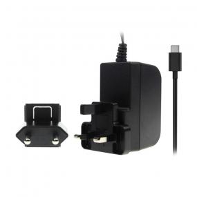 Ispravljač za RaspberryPi, 3000mA 5.1VDC, USB CM 1.5m, crni