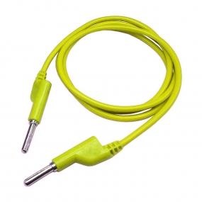 Kabl ban 4mm SR - ban 4mm SR, 1m žuti