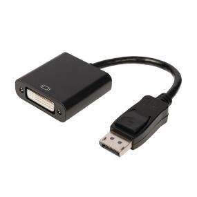 Kabl Displayport M - DVI-I F, 0.2m