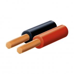 Kabl zvučnički P/F 2x0.75, crveno/crni