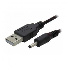 Kabl napojni 1.1x3.5 - USB 2.0 AM, 1.7m