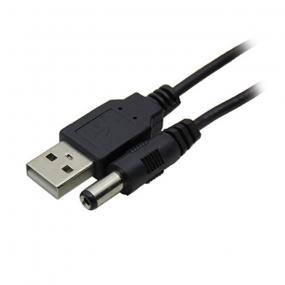 Kabl napojni 2.1x5.5 - USB 2.0 AM, 1.7m