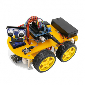 Kit komplet robot automobil