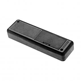 Kutija plastična Strapubox 6090, 129x40x25mm, crna