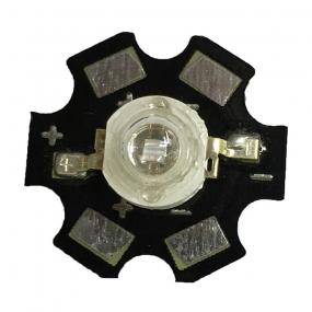 LED HI Power 1W UV 365-370nm, 120°