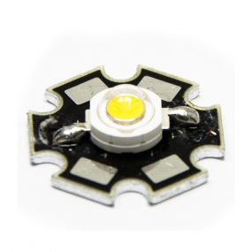 LED HI Power 1W bela topla 3000K, 120°