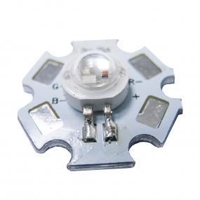 LED HI Power 3W RGB, 120°