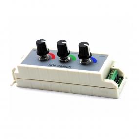 LED kontroler RGB sa potenciometrima 3x3A,12/24VDC