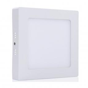 LED panel 18W, W 230VAC, kockasti nadgradni