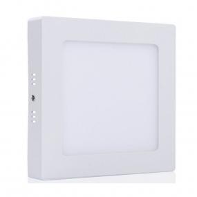 LED panel 18W, WW 230VAC, kockasti nadgradni