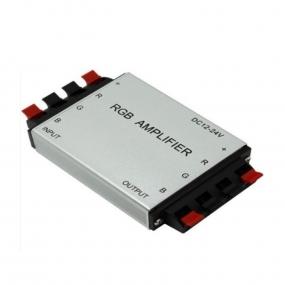 Pojačivač signala za RGB trake, 12/24VDC, 3x4A