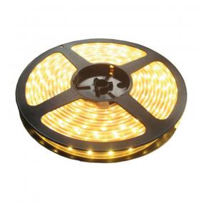 LED traka bela topla 3000K, 300xLED5050, crna PCB, kotur 5m