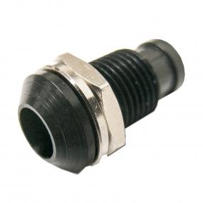 LED kućište 5mm metalno OUT crno