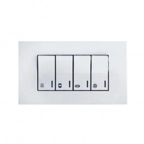 Metalka 21.01.097 horizontalna sklopka za kupatilo