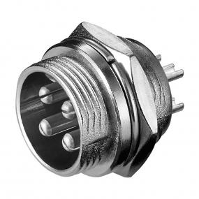 Mikrofonski konektor 4-pol M ugradni