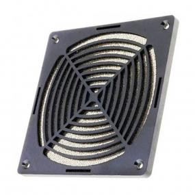 Mrežica za ventilator 120x120 plastična sa filterom