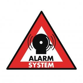 Nalepnica alarm system, 123x148mm