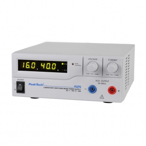Napajanje PeakTech 1525, 1-16VDC, 0-40ADC
