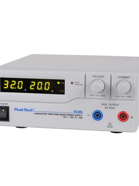 Napajanje PeakTech 1535, 1-32VDC, 0-20ADC