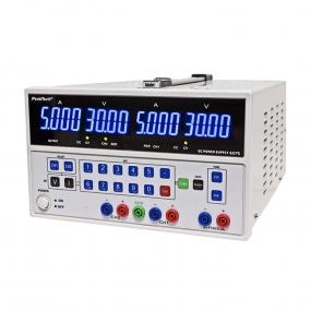 Napajanje PeakTech 6075, 2x(0-30)VDC, 2x(0-5)ADC