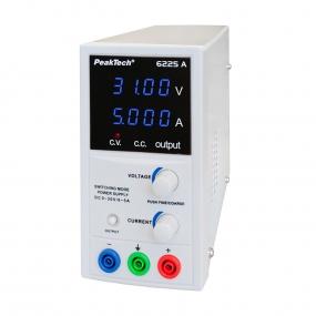 Napajanje PeakTech 6225A, 0-30VDC, 0-5ADC