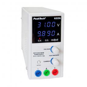 Napajanje PeakTech 6226, 0-30VDC, 0-10ADC