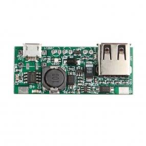 Naponski adapter DC/DC, IN 3.7V - OUT 5V USB, 1A