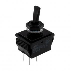 Prekidač kipp 16A/250V 2-pol 2-položaja ON-OFF, fi=12.7mm