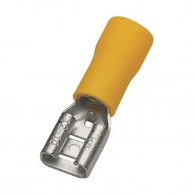 Papučica autobuksna F žuta 6.3mm
