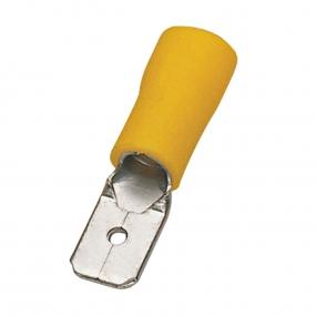 Papučica autobuksna M žuta 6.3mm