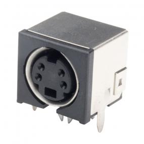 Power mini DIN 4-pol F print