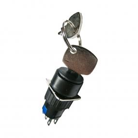 Prekidač rotacioni sa ključem 5A/250VAC ON-ON