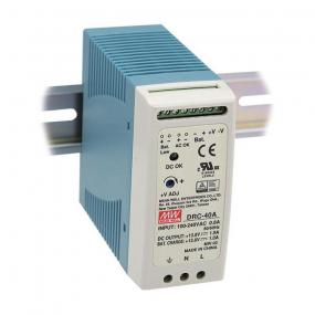 Punjač akumulatora DRC-40A, 13.8VDC, 2.9ADC, za DIN šinu