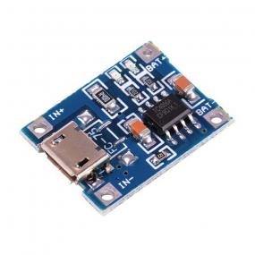 Punjač baterija Li-ion, 1A USB mini