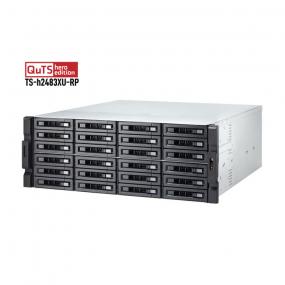Qnap 024U-Bay NAS TS-h2483XU-RP-E2236-128G
